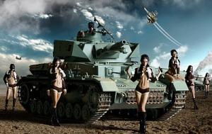 Tank. Wijfen. +1